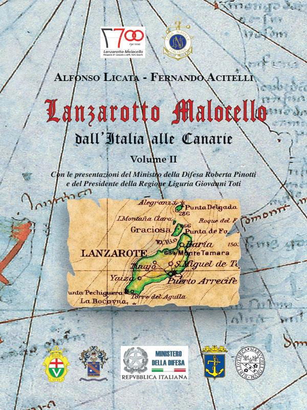 """Il secondo volume """"Lanzarotto Malocello dall'Italia alle Canarie"""""""