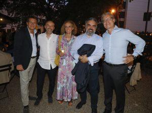 (ds) Lorenzo Di Prima, consigliere della CCIB con invitati