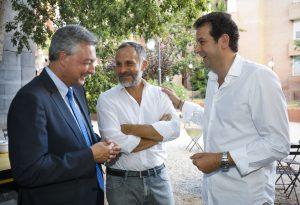 (sin) il Vice Presidente della CCIB Mario Massarotti con il Presidente della CCIB Igor Garzesi