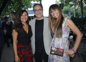 (sin) Federica Falzetta, segretario generale della CCIB con Josep Maria Rodes e Angela Sanchez