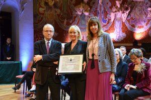 """Chelo García Tormo, """"responsable de calidad de Vithas Xanit Internacional"""" riceve il Premio al Mejor Plan de Calidad"""