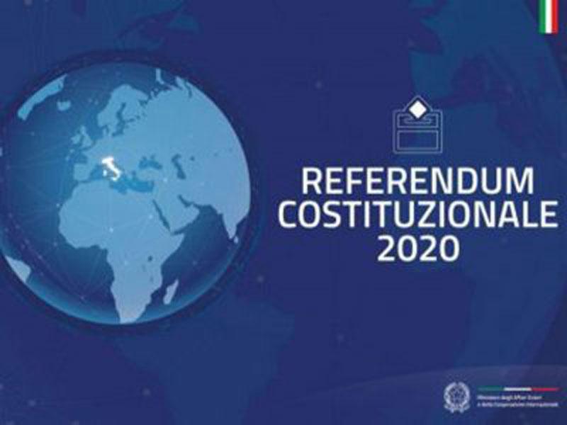 RINVIATO – Referendum Costituzionale 29 marzo 2020
