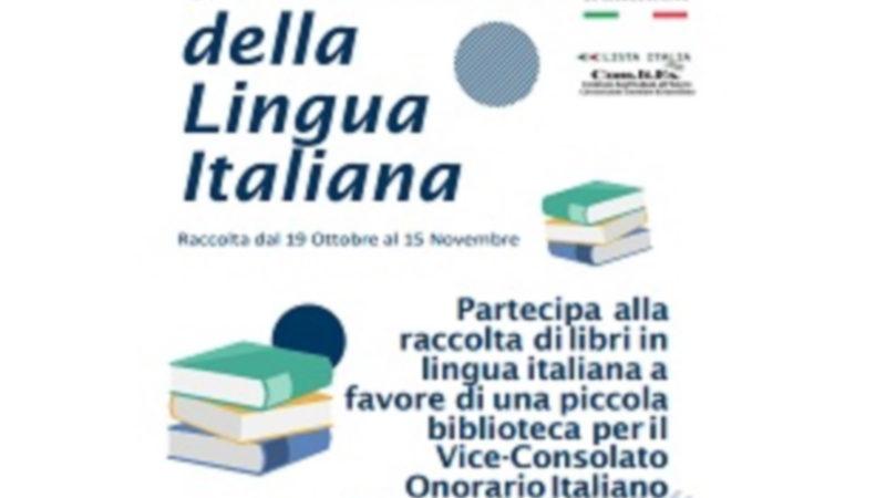 Il Comites e la Casa degli Italiani con libri