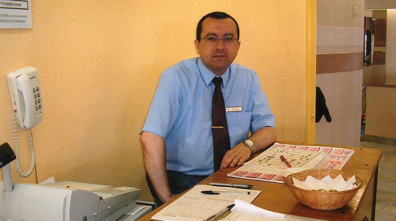 """Cristobal Beltran: """"don de gente"""""""