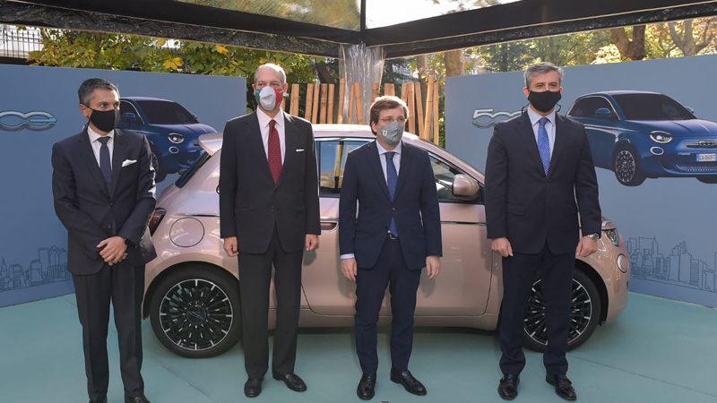 In Ambasciata la Fiat elettrica
